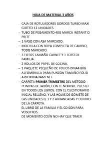 HOJA DE MATERIAL 3 AÑOS Martín